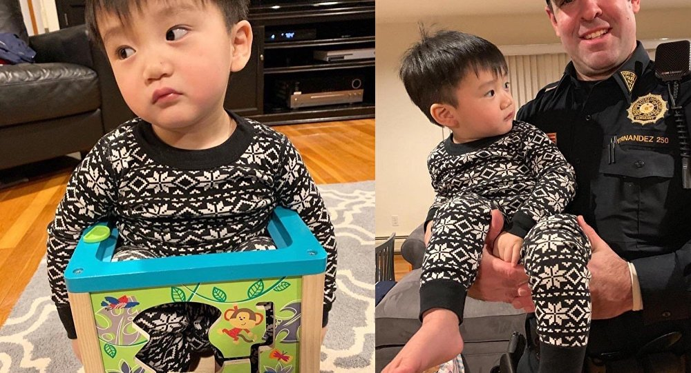 Tot in a Box! New Jersey Officer Rescues Boy Wedged in Toy