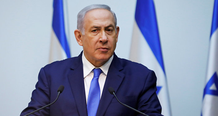 Israeli Prime Minister Benjamin Netanyahu speaks at the Knesset