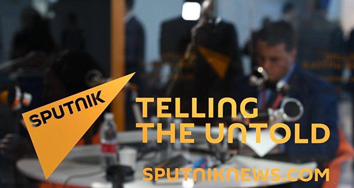Sputnik news room