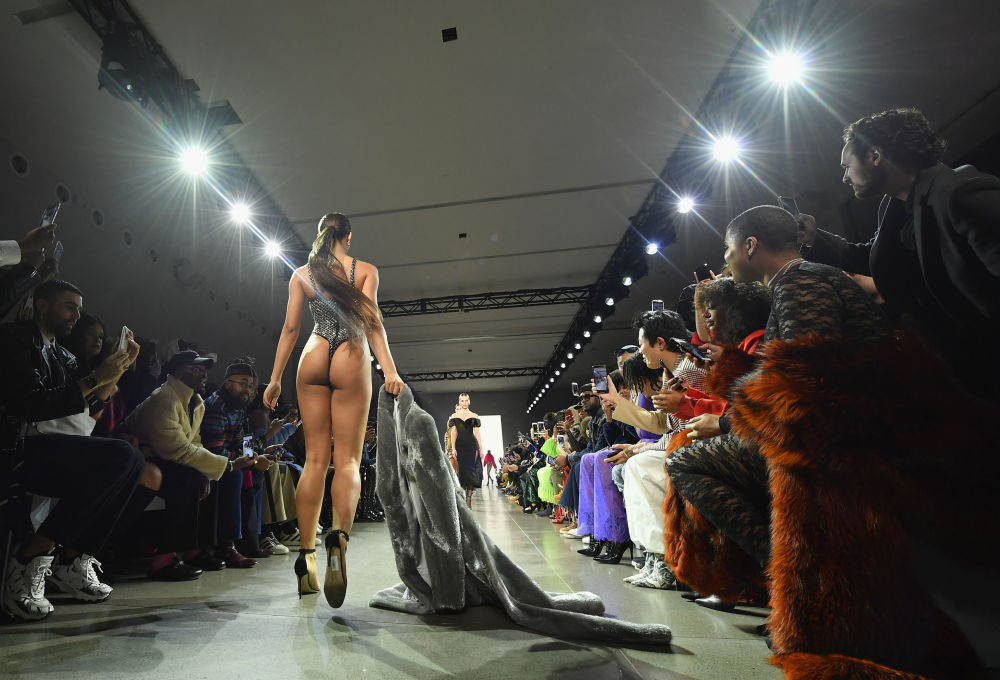 LaQuan Smith's Runway Show During New York Fashion Week