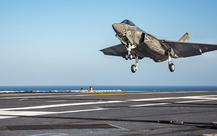 US Aircraft Carrier Carl Vinson to Be Overhauled for F-35C Use