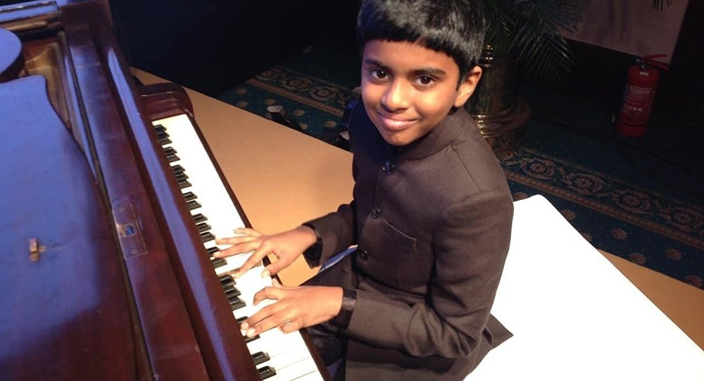 Indian Piano Prodigy Mesmerises With Performance Of