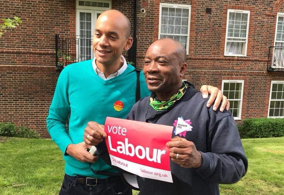 Chuka Umunna MP (left) is one of the seven who have quit the Labour Party