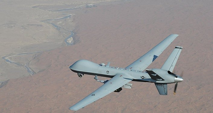 An MQ-9 Reaper unmanned aerial vehicle
