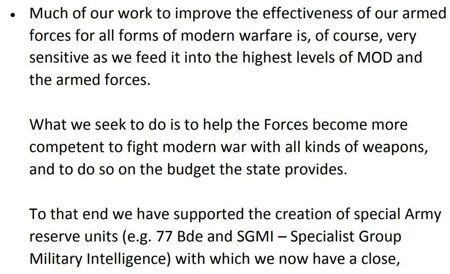 Dan Lafayeedney (ex-SAS) of the Institute for Statecraft Discusses His Organization's Support for 77th Brigade