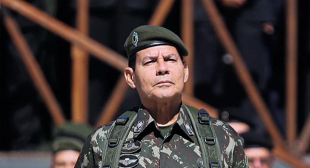 El general brasileño Antonio Hamilton Mourão