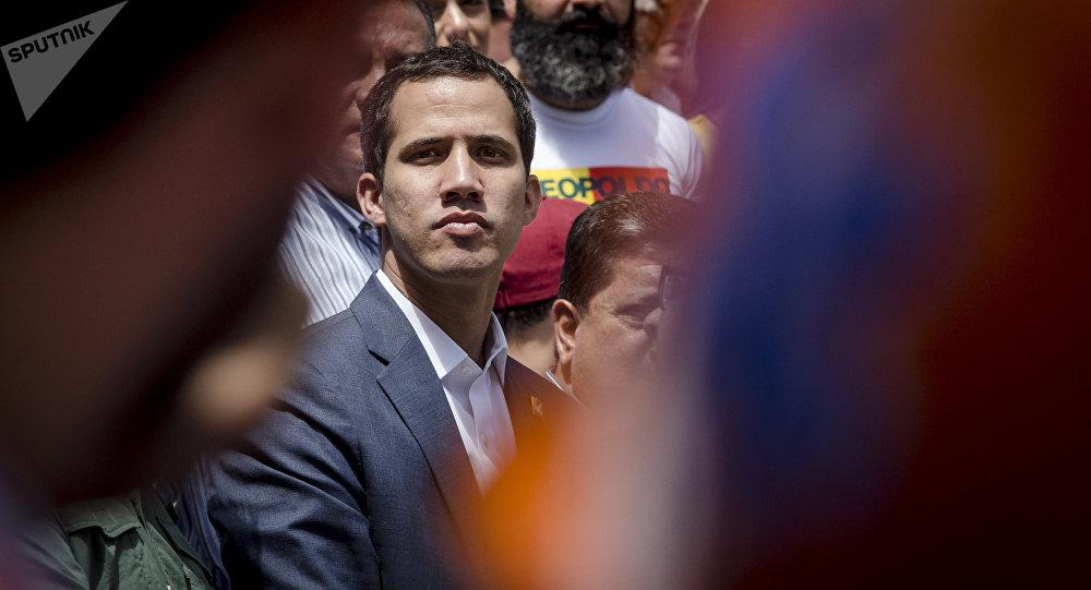 Self-proclaimed Venezuela's interim president Juan Guaido