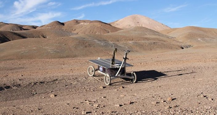 A trial rover mission in the Mars-like Atacama desert