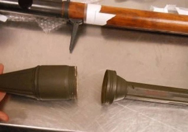 Replica RPG Confiscated by TSA from Florida man