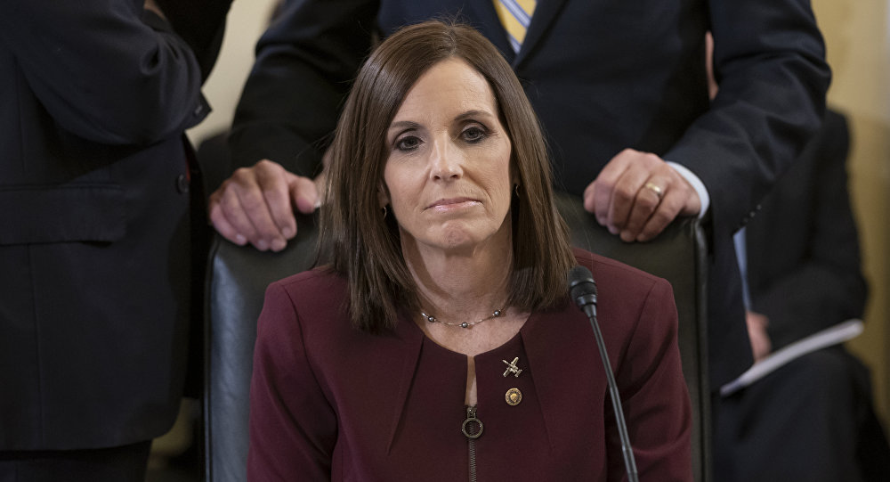Senator McSally, ex-Air Force pilot, says officer raped her