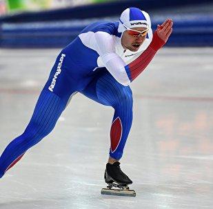 Russian speed skater Pavel Kulizhnikov