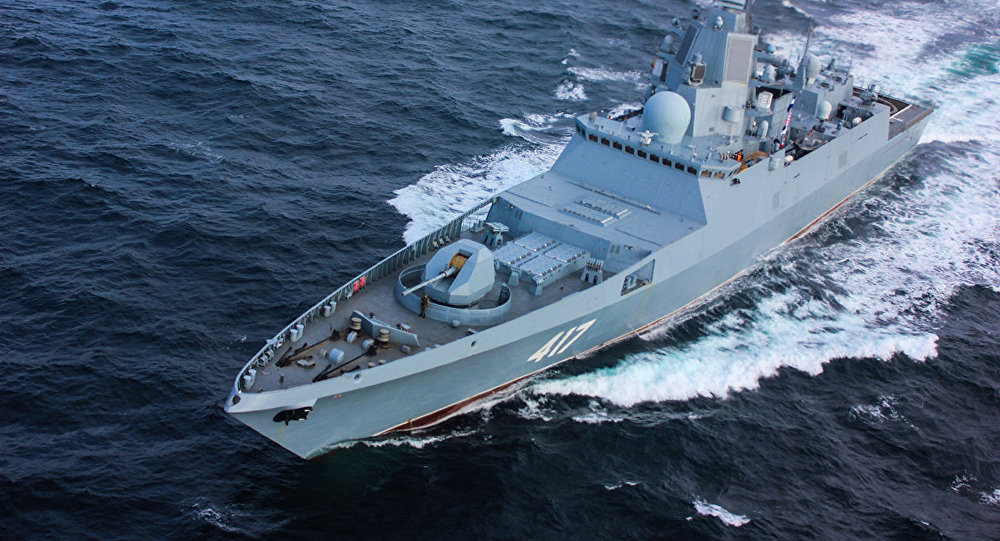 WATCH Russian Ship Test Weapon That Renders Enemy Targeting Systems Useless