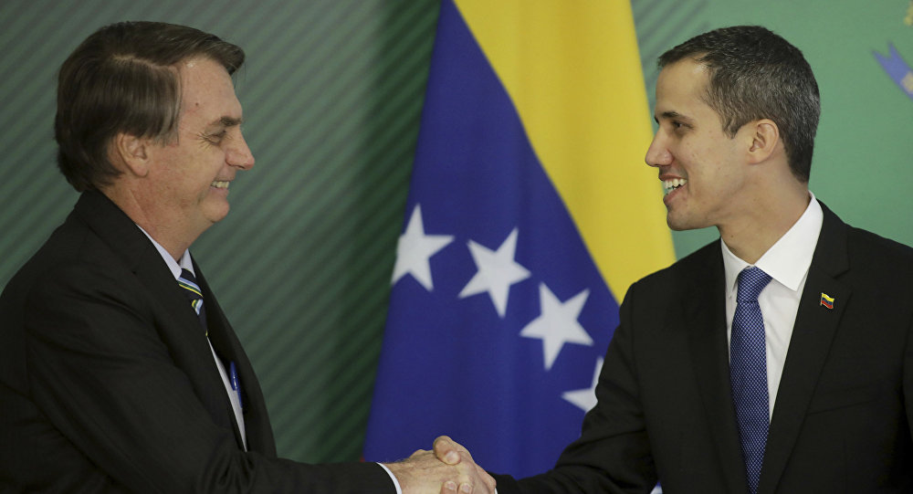 Brazil's far-right leader visits Washington