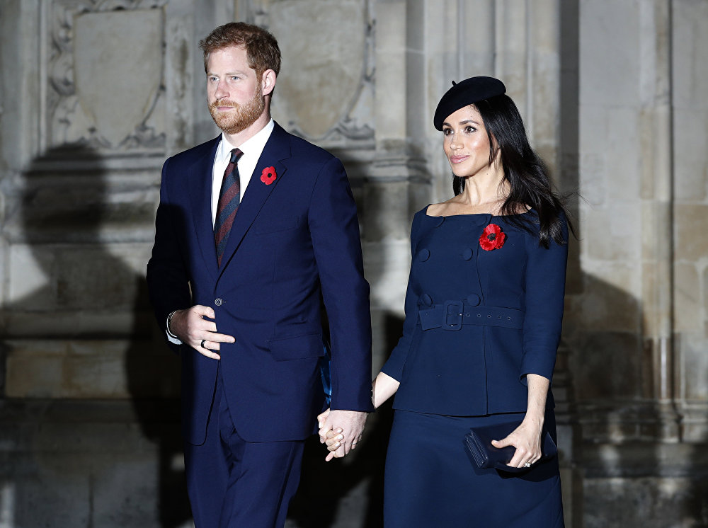 Harry made godfather to Zara's daughter as he and Meghan attend christening