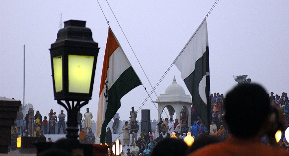 Flags of India and Pakistan (File Photo)