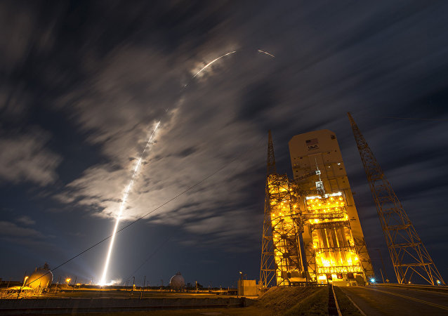 The 45th Space Wing supported NASA's successful launch of Orbital ATK's Cygnus spacecraft aboard a United Launch Alliance Atlas V rocket from Space Launch Complex 41 at Cape Canaveral Air Force Station, Fla., March 22, 2016. The rocket carrying Cygnus cargo vessel OA-6 is a resupply mission to the International Space Station supporting NASA's Commercial Resupply Services program.