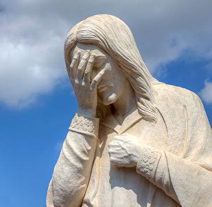 Jesus statue from Oklahoma City Memorial