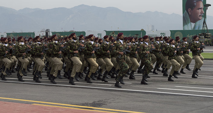 Military day parade held on Pakistan Day in Islamabad, 23 March 2019