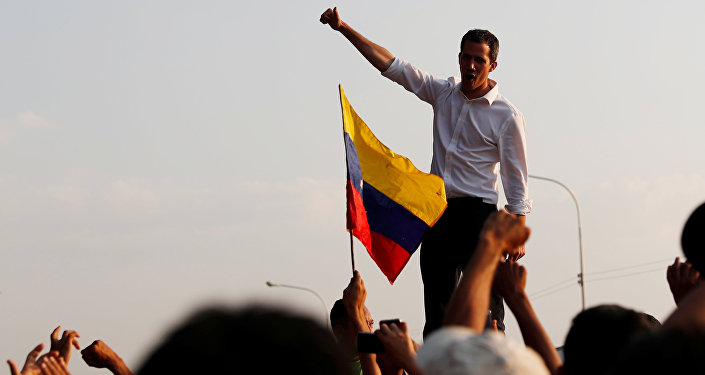 Juan Guaido. File photo