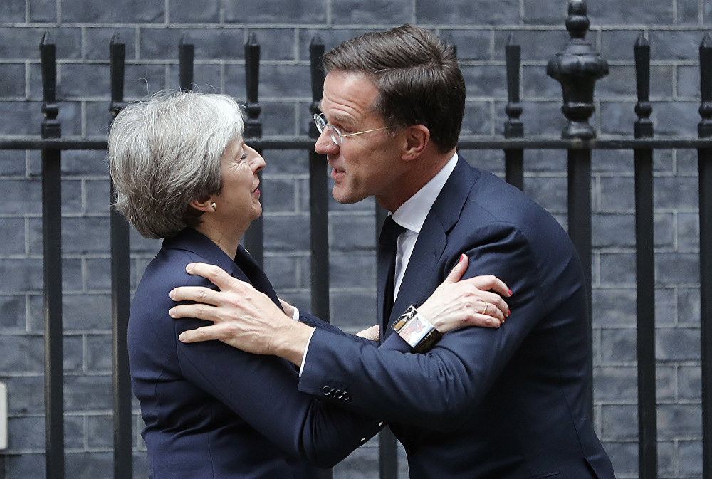 Her Brexit strategy in tatters, British PM's days are numbered