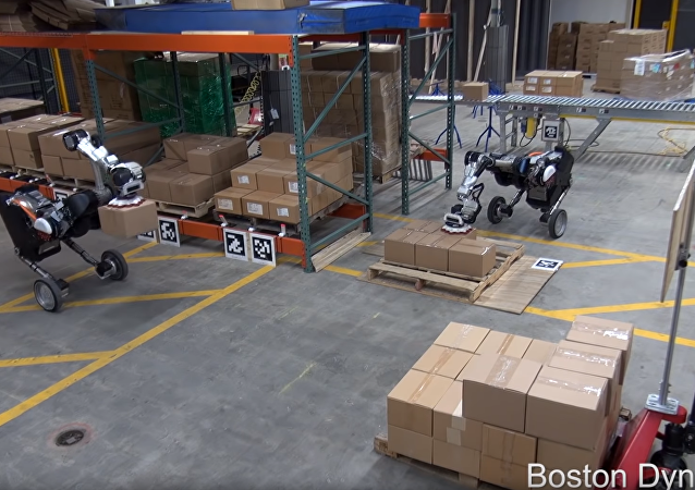 Boston Dynamics Latest Robot Reduced to Stacking Boxes