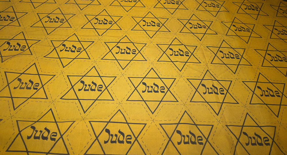 Nazi-made Cloth With Yellow Star of David Badges Cutouts