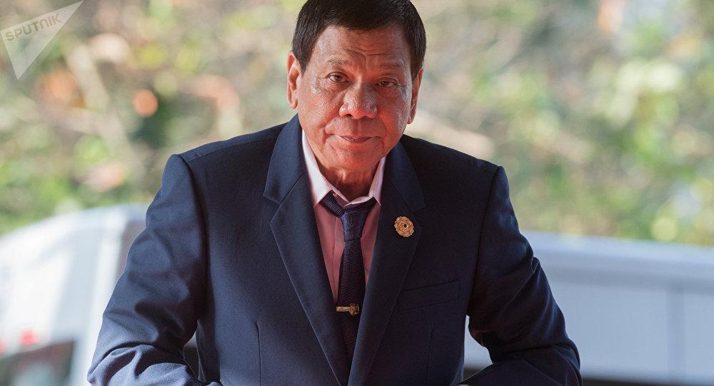President of the Philippines Rodrigo Duterte (File)
