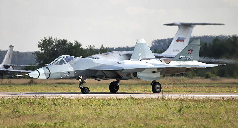 Second flying prototype of T-50 PAK FA b/n 52
