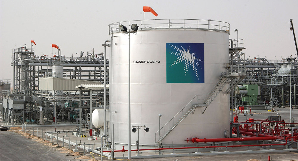 A general view shows a new plant inaugurated 22 March 2006 in Haradh, about 280 kms (170 miles) southwest of the eastern Saudi oil city of Dhahran, launching a project adding 300,000 barrels of oil to the kingdom's daily production capacity