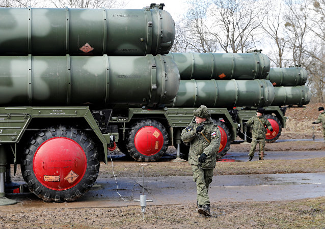 Russia's S-400 Triumph surface-to-air missile system. File photo