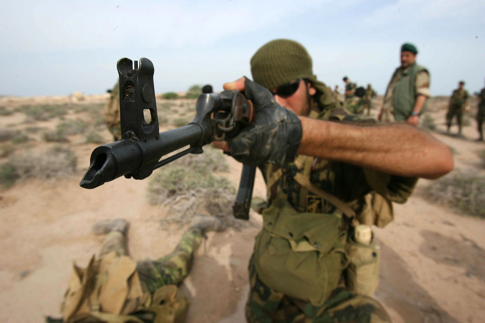 Iran's Elite Revolutionary Guard Special Forces Participate in Military Drills
