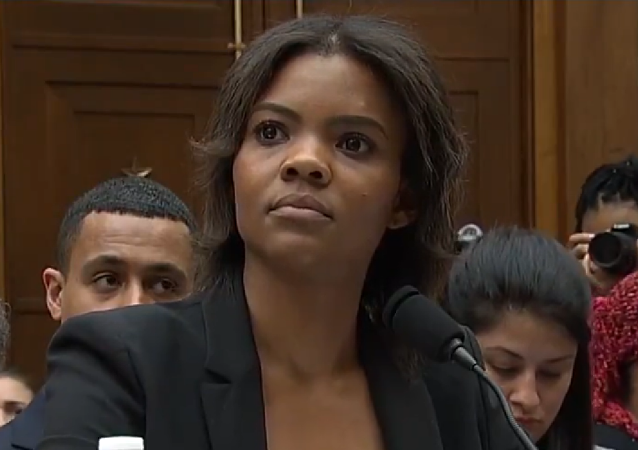 Candace Owens during House Judiciary Committee hearing