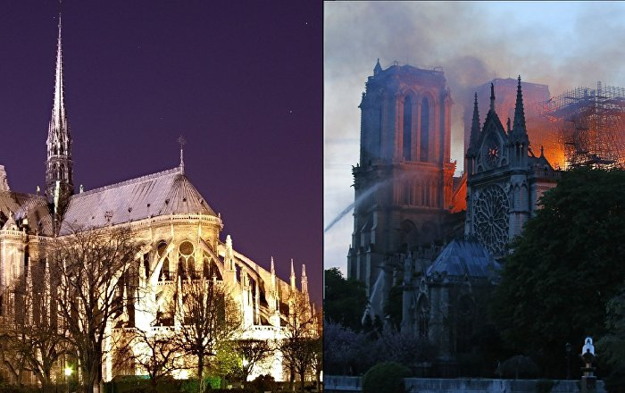 Notre Dame Blaze Aftermath 850 Year Old Cathedral Stands