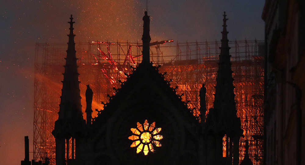 France pledges to rebuild Notre Dame after destructive fire