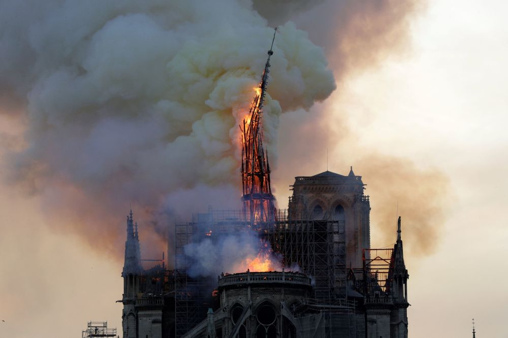 Fire Destroys Iconic Notre Dame Cathedral in Paris