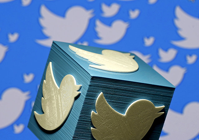 A 3D-printed logo for Twitter