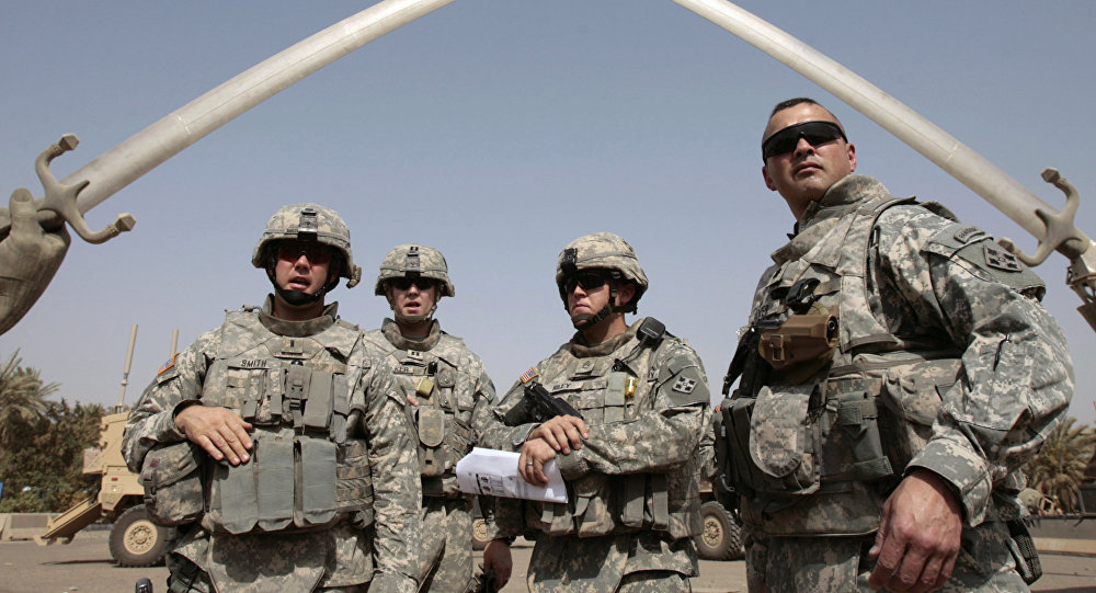 Pic 2 Iraq War US Coalition Soldiers