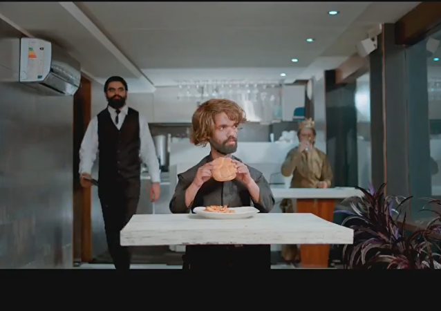 Cheetay: Food is coming ad starring Rozi Khan, Peter Dinklage's lookalike