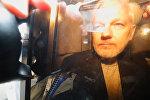 WikiLeaks Founder Julian Assange Arrives at Court in London