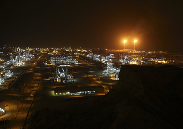 natural gas refineries at the South Pars gas field on the northern coast of the Persian Gulf, in Asaluyeh, Iran, March 16, 2019