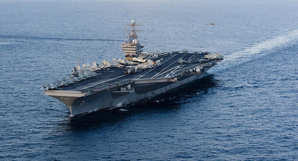 The Nimitz-class aircraft carrier USS Abraham Lincoln. File photo