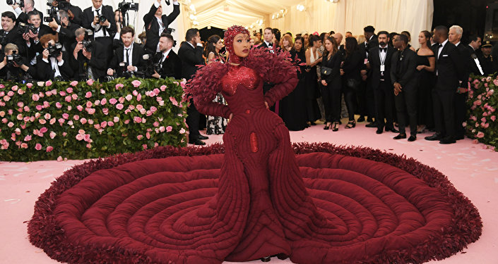 NEW YORK, NEW YORK - MAY 06: Cardi B attends The 2019 Met Gala Celebrating Camp: Notes on Fashion at Metropolitan Museum of Art on May 06, 2019 in New York City