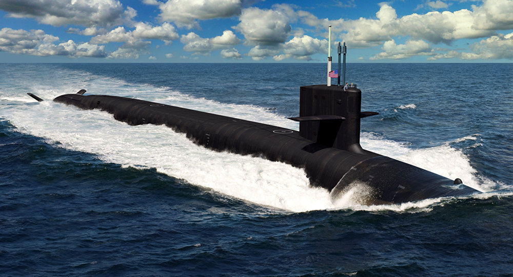 An artist rendering of the future Columbia-class ballistic missile submarines. The 12 submarines of the Columbia class are a shipbuilding priority and will replace the Ohio-class submarines reaching maximum extended service life. The Columbia-class Program Executive Office is on track to begin construction with USS Columbia (SSBN 826) in fiscal year 2021, deliver in fiscal year 2028, and on patrol in 2031.