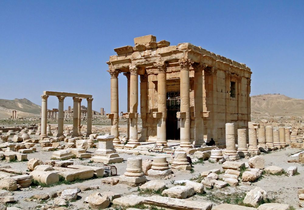 Temple of Baalshamin in Palmyra, Syria