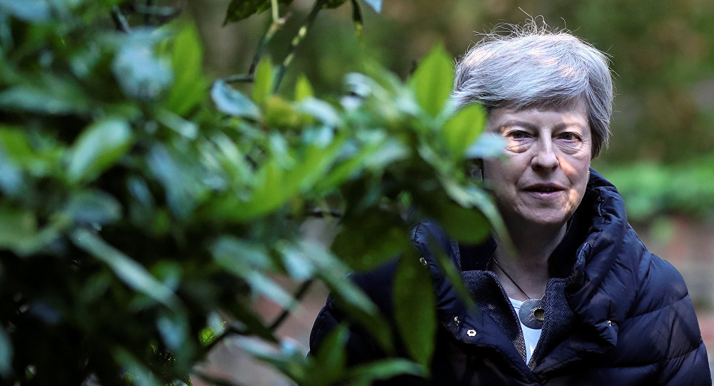 UK PM May to Outline Departure at 1922 CMTE Meeting - Report