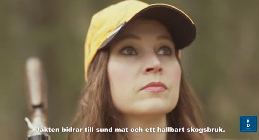 Screenshot from the Swedish Christian Democrats' 2019 EU election film