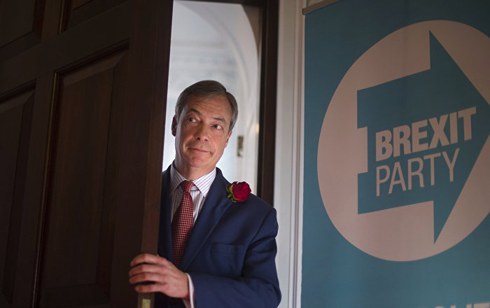 Tory Donors in Secret Talks With Nigel Farage to Agree Electoral Pact to Save Brexit – Reports