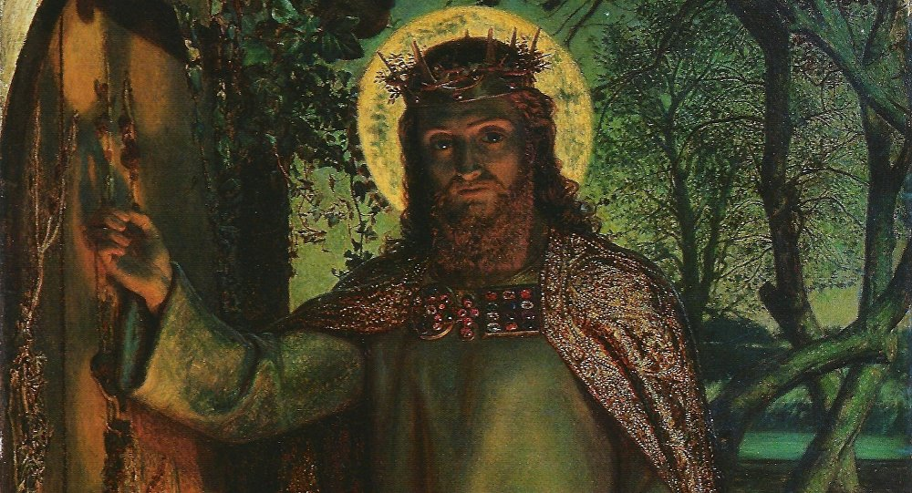 The Light of the World (painting). Artist William Holman Hunt