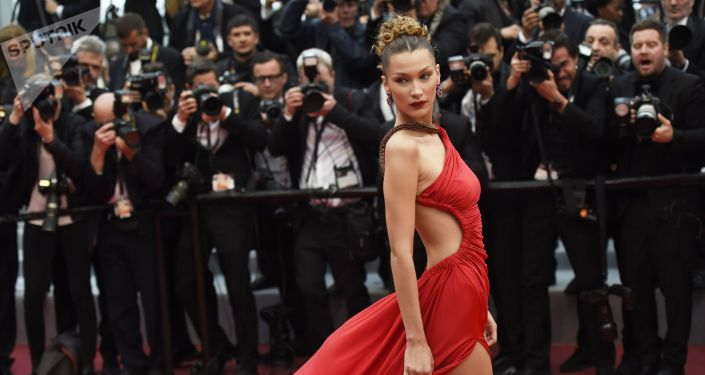 American Model Bella Hadid During the 72nd Cannes Film Festival in France