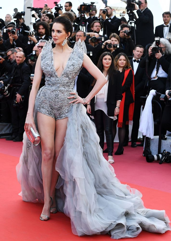 Actress Frédérique Bel During the 72nd Cannes Film Festival in France